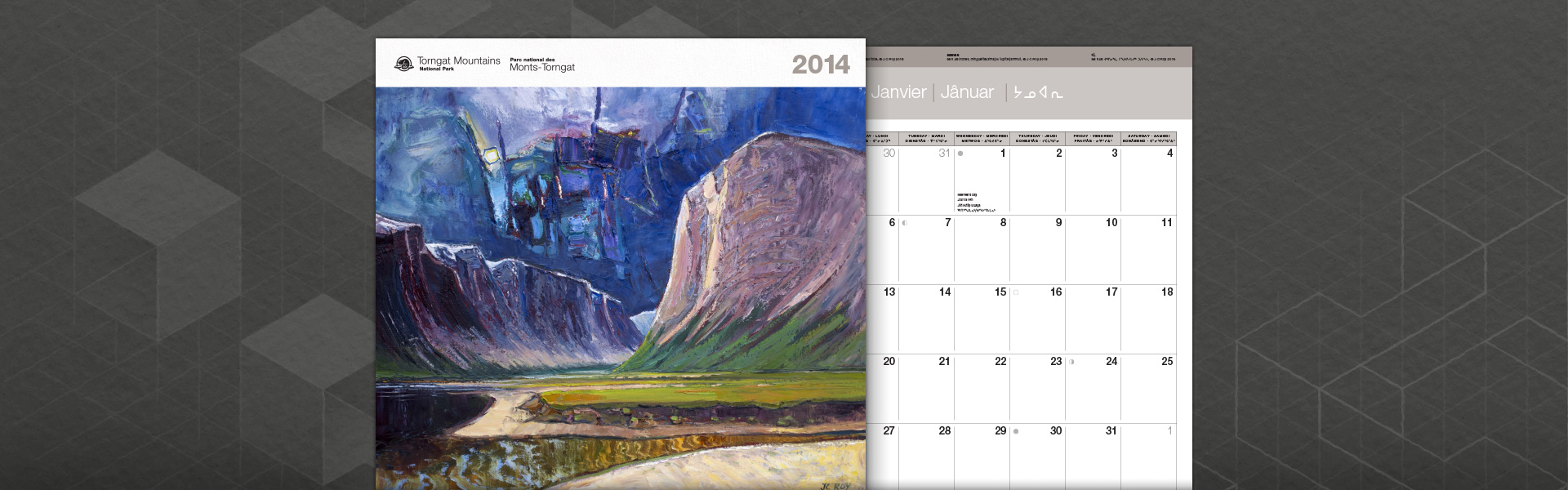 Torngat Mountains National Park 2015 calendar